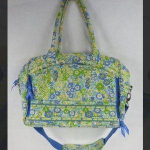 ⛄️Vera Bradley laptop large padded quilted bag